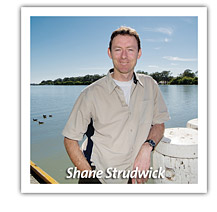 Shane Strudwick at the Murray