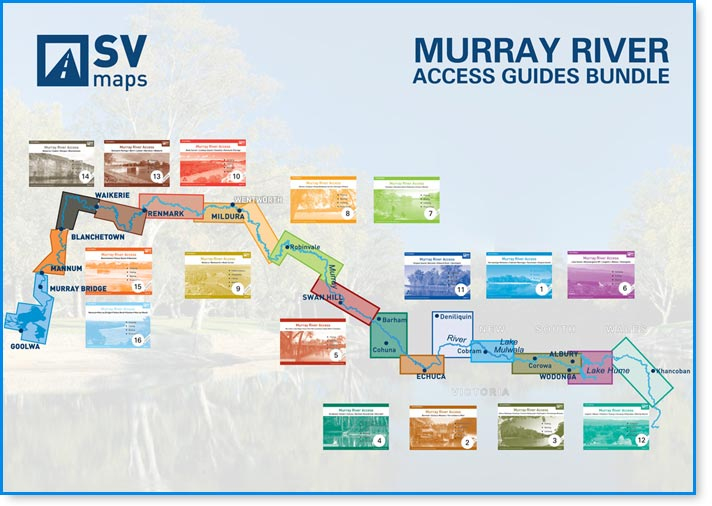 Murray River Access Guides Map