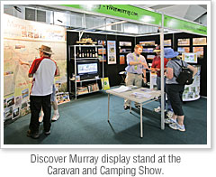 Discover Murray at the Caravan and Camping Show