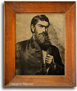 Ned Kelly portait