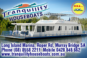 Tranquility Houseboats logo