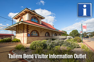 Tailem Bend Visitor Information Outlet logo