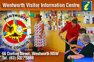 Wentworth Visitor Information Centre logo
