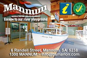 Mannum Visitor Information Centre logo