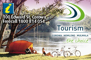 Corowa Visitor Information Centre logo