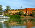 Cruising the Murray River near Renmark Paringa