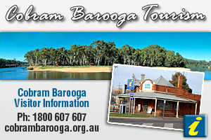 Cobram Barooga Visitor Information Centre logo