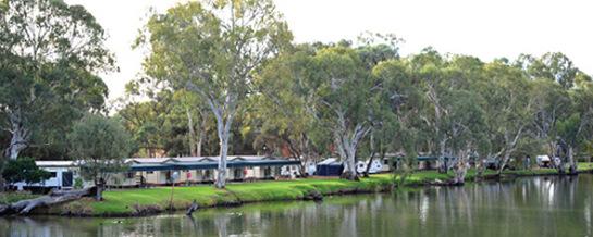 Standard Powered Sites - Riverbend Caravan Park