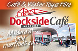 50% off a 2nd Coffee at Mildura Dockside Marina Cafe