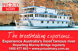 Pay for 4 nights travel for 5 nights cruising with Proud Mary
