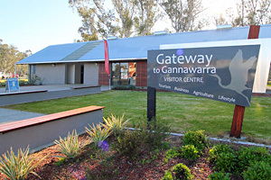 Gateway to Gannawarra Visitor Centre, Cohuna