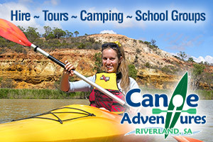 Canoe Adventures - Riverland logo