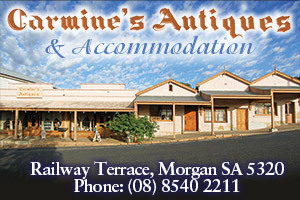 Carmines Antiques & Accommodation logo
