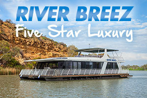 River Breez Houseboats logo