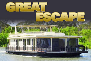 Great Escape Houseboat logo