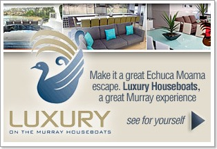 Luxury on the Murray Houseboats