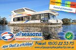 Winter on the Murray River - All Seasons Houseboats Mildura