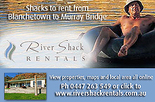 5% discount off all selected River Shack Holiday Rentals