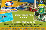 10% Off Accommodation in Mildura at All Seasons Holiday Park