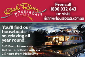 Rich River Houseboats logo