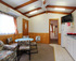 Standard 2bedroom 1ensuite cabin Living & Dining