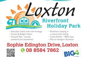 Loxton Riverfront Holiday Park logo