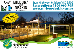 BIG4 Mildura Deakin Holiday Park logo