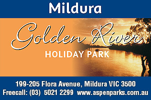 Golden River Holiday Park logo