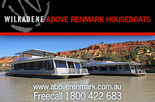 Free small keg with your Wilkadene Above Renmark Houseboat