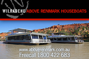 Above Renmark Houseboats