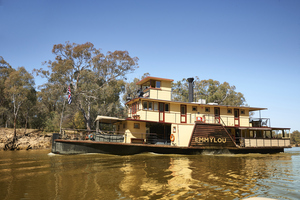 Murray River Paddlesteamers, Echuca logo