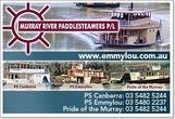Murray River Paddle Steamers