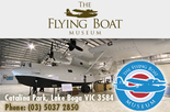 Buy 1 Adult entry & get 50% off a 2nd - Lake Boga Flying Boat