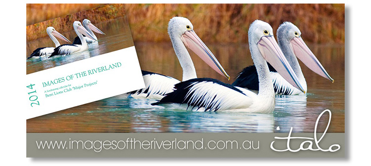 Images of the Riverland calendar - Italo Vardaro