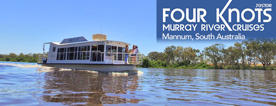 Four Knots Murray River Cruises Mannum