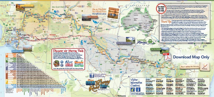 Discover Murray River Trail map only