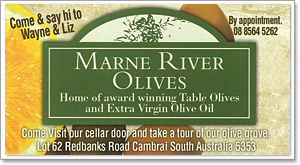 Marne River Olives