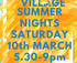 Village Summer Nights  logo