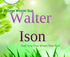 Walter Ison Live at Village Winter Sun  logo