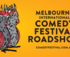 MELBOURNE INTERNATIONAL COMEDY FESTIVAL ROADSHOW 2020 logo