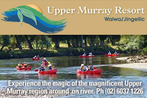 Upper Murray Resort Canoe Hire