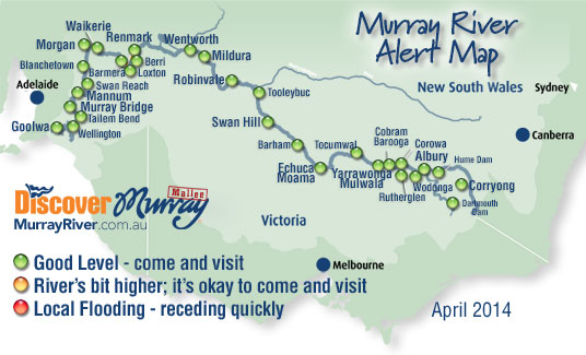 Murray River Flood Alerts