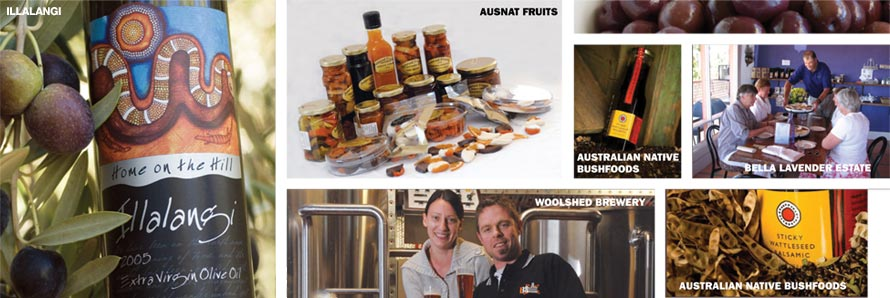Riverland Food, wine and produce