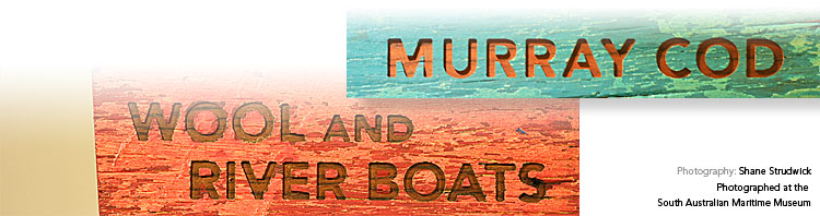 Murray Cod: Wool and River Boats