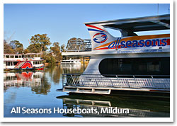 All Seasons Houseboats, Mildura