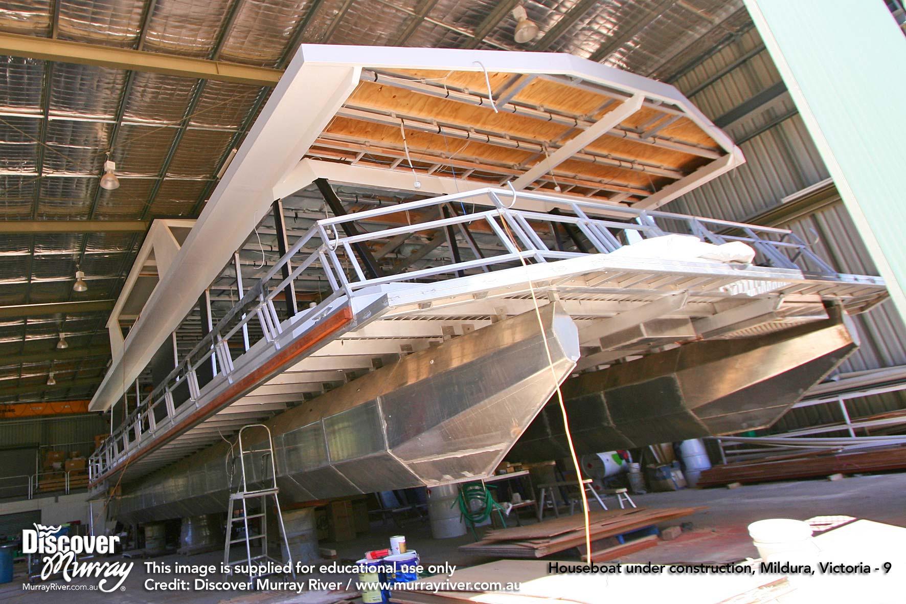 Houseboat Ferier i South Australia