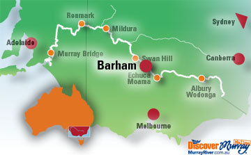 Map of Barham