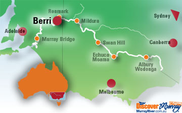 Map of Berri