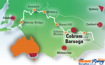Cobram Map