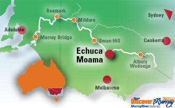 Map of Echuca